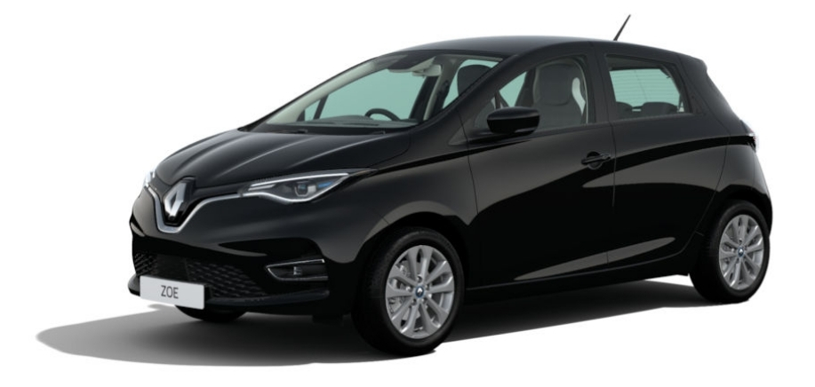 Renault zoe in black