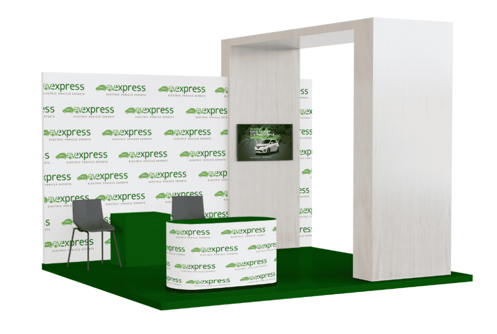 picture of EV Express Big Sustainability Expo Stand