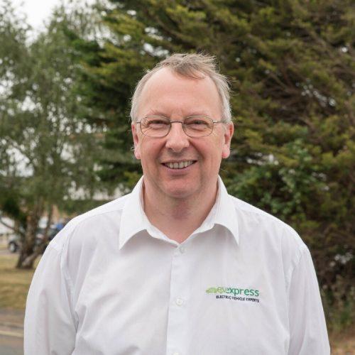 David Thornton - co-founder of ev express